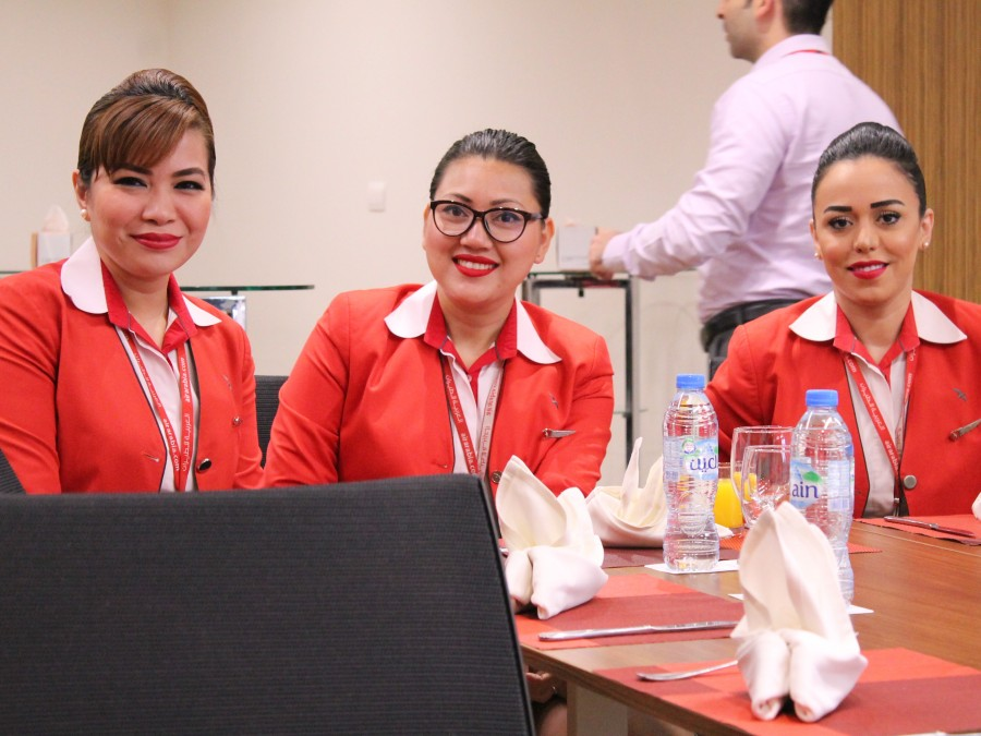 Marking 10 years with Air Arabia