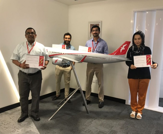 Another Batch celebrates their 5 years with Air Arabia!