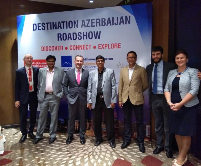 Air Arabia team in Baku conducted several roadshows in India.