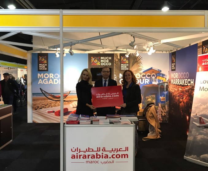 Air Arabia Maroc takes part of travel shows and exhibitions around the region!