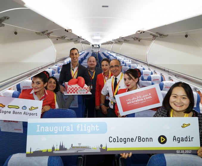 Air Arabia Maroc Inaugurates its first flight from Cologne to Agadir