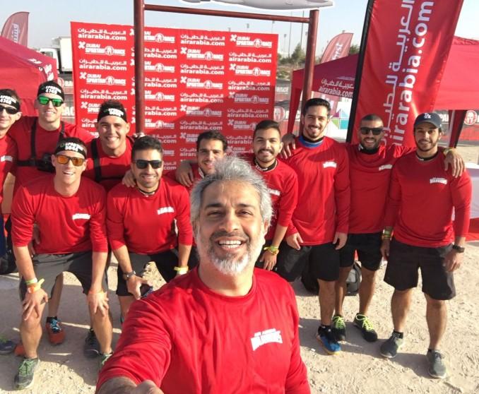 Air Arabia Spartan team in Bahrain battled their road to Victory!