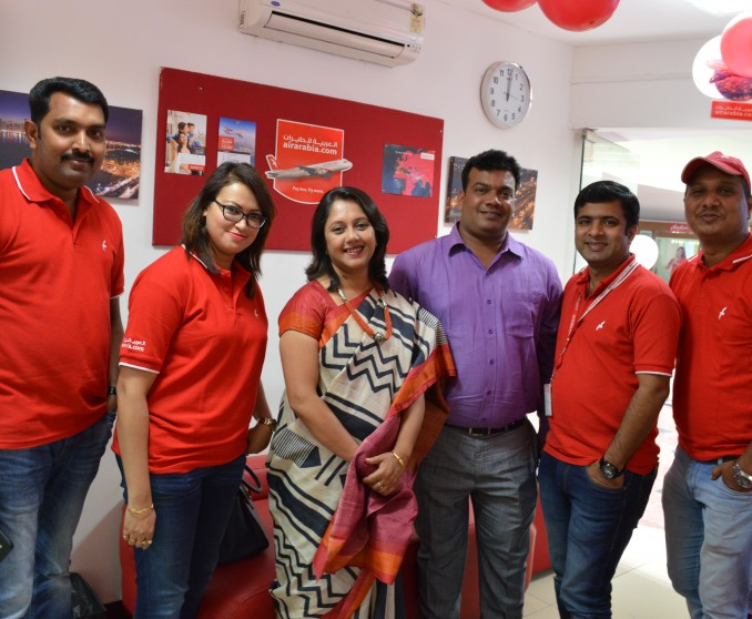 Air Arabia celebrates 10 years operations to Bengaluru