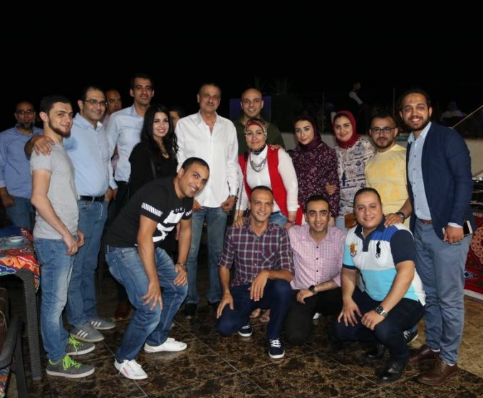 Staff Iftar In Egypt