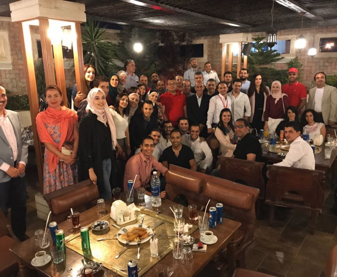 Jordan Staff Iftar Gathering