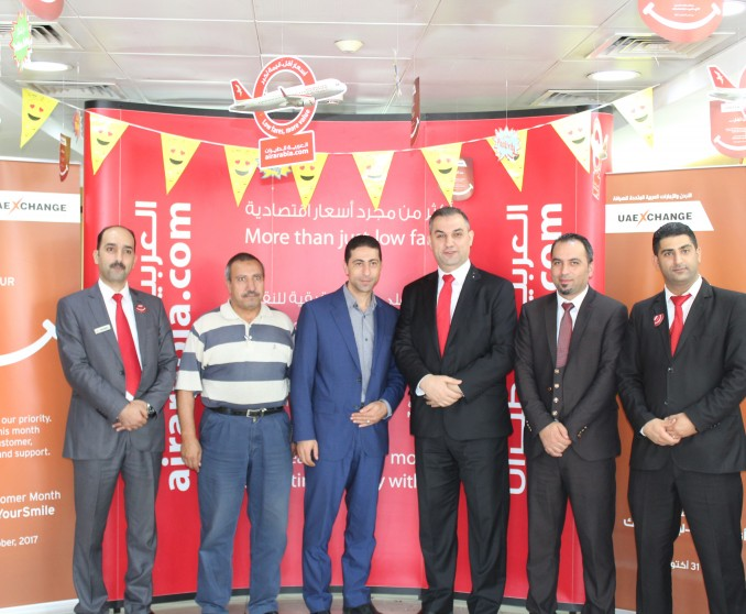 Air Arabia Jordan and UAE Exchange sign flight payment deal!