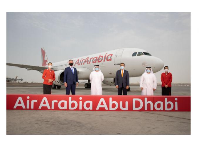 Air Arabia Abu Dhabi takes to the skies with inaugural flight to Egypt.